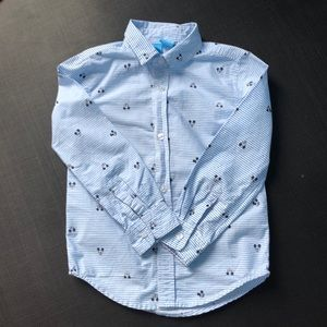 Mickey Mouse button down shirt
